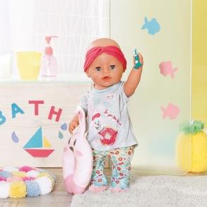 Baby Born - bath deluxe night kläder set - Baby Born - bath deluxe night kläder set