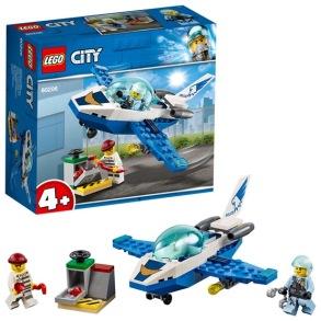 LEGO City Police 60206, Luftpolisens jetpatrull 4+ - LEGO City Police 60206, Luftpolisens jetpatrull 4+