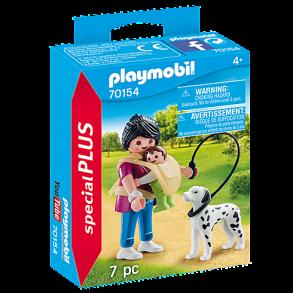 70154 playmobil - Mamma med baby och hund 4+ - 70154 playmobil - Mamma med baby och hund 4+