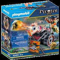 70415 Playmobil - Pirat med kanon 5+