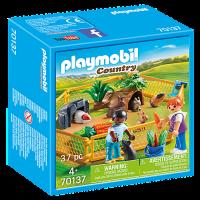 70137 Playmobil Country - Inhägnad för marsvin och kaniner4+