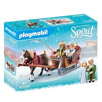 70397 Playmobil, Spirit - Vinterslädtur 4+
