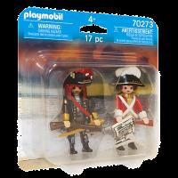 70273 Playmobil - Piratkapten och rödrock 4+