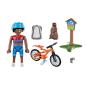 70303 Playmobil - Mountainbikecyklist 4+