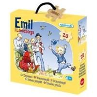 Träpussel Emil i lönneberga 20 bitar