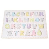 Jabadabado Träpussel - Alfabetet