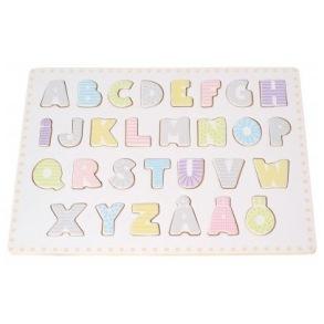 Jabadabado Träpussel - Alfabetet - Jabadabado Träpussel - Alfabetet