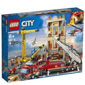 60216 LEGO City - Brandkåren i centrum 6+ - 60216 LEGO City - Brandkåren i centrum 6+