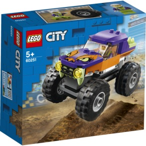 60251 LEGO city Monstertruck 5+ - 60251 LEGO city Monstertruck 5+