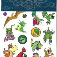 Barntatuering - Gnuggisar Dinosaurier 23L
