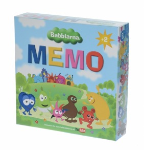 Babblarna Memo spel - Babblarna Memo spel