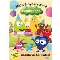 Målarbok Babblarna - Babblarna har kalas