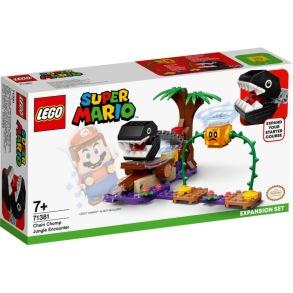 71381 LEGO Super Mario - Chain Chomps Djungelstrid 7+ - 71381 LEGO Super Mario - Chain Chomps Djungelstrid 7+
