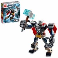 76169 LEGO Marvel Avengers - Thor i robotutrustning 7+