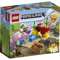 21164 LEGO Minecraft - Korallrevet 7+