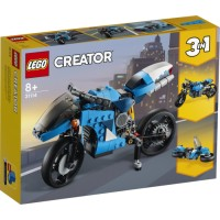 31114 LEGO Creator - Supermotorcykel 8+