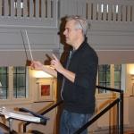 Repetition i kulturhuset Björnen inför höstkonsert Åstorps- och Bjuvs musikkår 2014