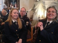 Konsert i Kropps kyrka 22 mars 2015