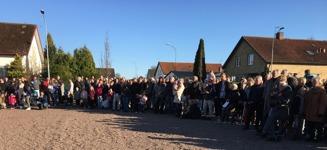 Valborg 2017, mycket folk kom och firade