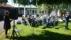 Bjuvs Musikkår har friluftskonsert Kristi Himmelsfärdsdag utanför församlingshemmet
