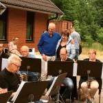 18 juni 2018 Friluftskonsert med korvgrillning utanför Bjuvs musikhus