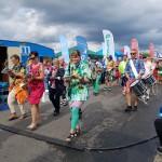 Bjuvskalaset 2018 i färgglad parad