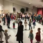 Juldans Varagårdsskolans aula 2018