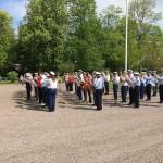Blåsmusikens dag 2019 Folkets Park i Billesholm