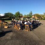 Friluftskonsert Bergsgatan lekplats i Bjuv, gästartister BM Drill