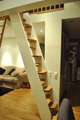Skräddarsydd trappa