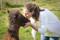 Camilla kissing our prince, Bjarki