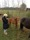 Birgitta taking pictures of the flock