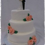 Lovely rose wedding