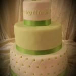 lime bröllop tårtmagi