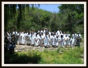 Många döpta, ett resultat av pionjärarbete