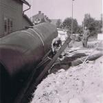 Installation av tank 1
