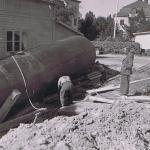 Installation av tank 2