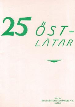 25 Östlåtar -