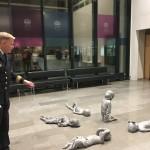 """Charlotte Gyllenhammars installation """"Under""""."""
