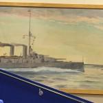 Jacob Häggs pansarskepp 1914 i Sverigesalen