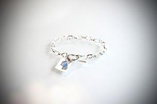 Stilrent armband med pärla