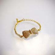 Rosett armband Guld