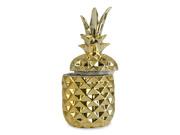 Ananas skål med lock