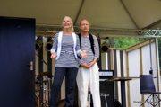 Elisabeth Falk & Stefan Skärlund - HÄR! Foto: Hanna Lundin