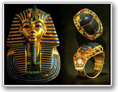 Uppdrag 2. Tutankhamons guldring stulen!