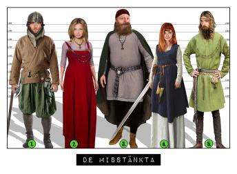 Uppdrag 7. Det försvunna vikingasvärdet! - Vikinga Uppdrag 7.  Paket för 2 - 6 barn. Totalpris