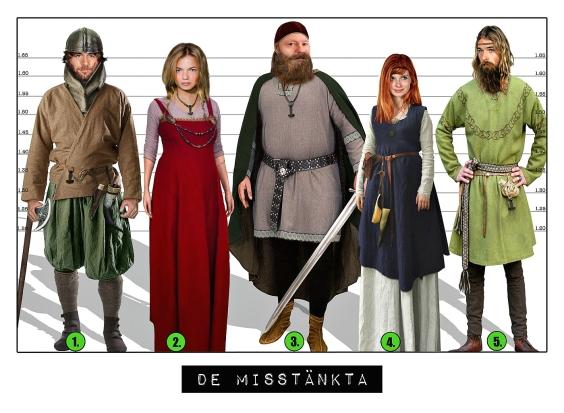 Barnkalas från Spy:Co - De misstänkta från Vikingatiden, uppdrag 8.