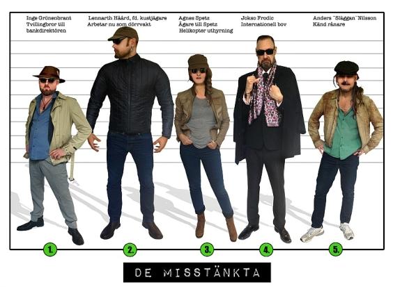 De 5 misstänkta uppdrag 3. - Spy:Co barnkalas