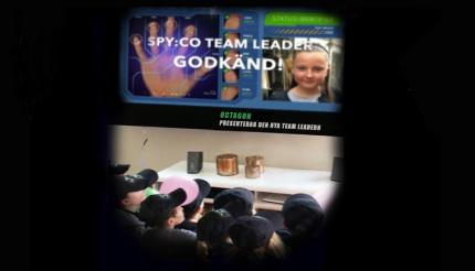 Spionkalas - Nu kan födelsedagsbarnet bli en riktig Spy:Co teamleader!