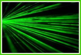 Tips & tricks för barnkalaset - Fixa laserstrålar med neongrönt garn!